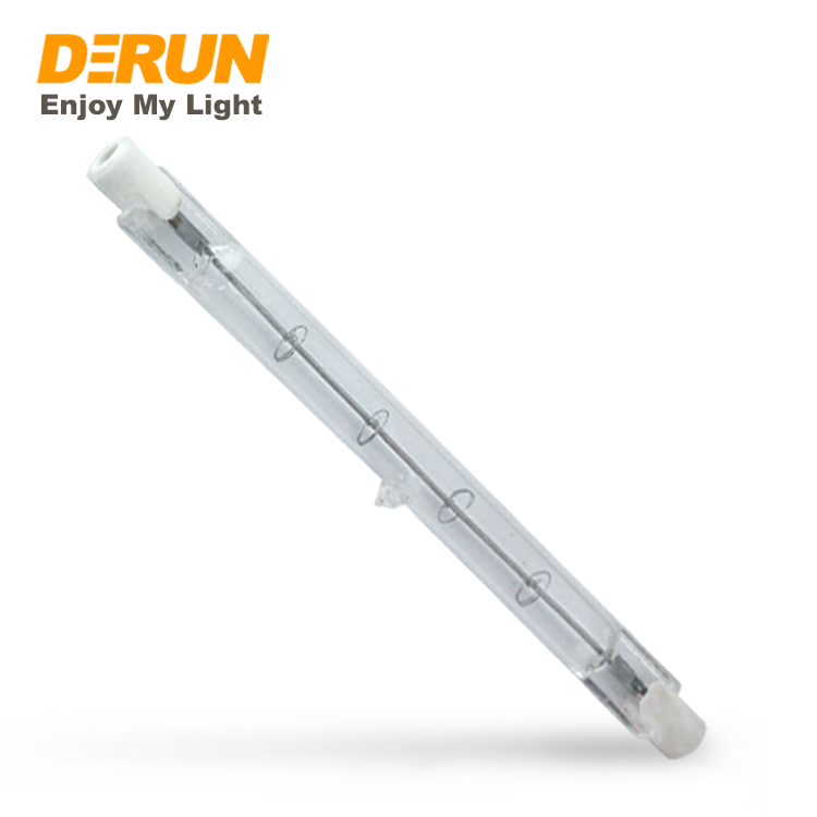 120W 160W 200W 230W 400W 110V 130V 220V 240V Clear Light Lamp <strong>J118</strong> R7S tungsten Halogen Bulb Tube , HAL-R7S