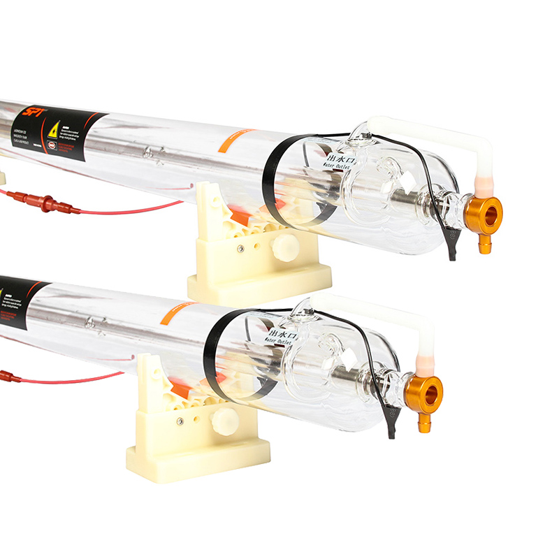 SPT <strong>Factory</strong> Direct C Series 80W 100W 130W 150W CO2 Laser Tube 100 Watt For Laser Cutting Machine