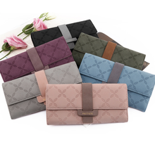 Puriti women's wallet female 2019 new long Japanese and Korean version of the personality <strong>large</strong> capacity can put mobile <strong>phone</strong>