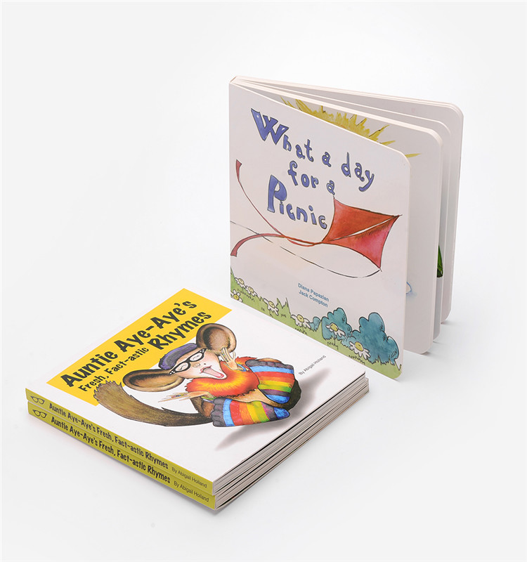Full Colour Printing English Learning Short Story Book For Kids