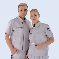 Engineering marching Uniform Short Sleeve safety construction Workwear wholesale work clothes