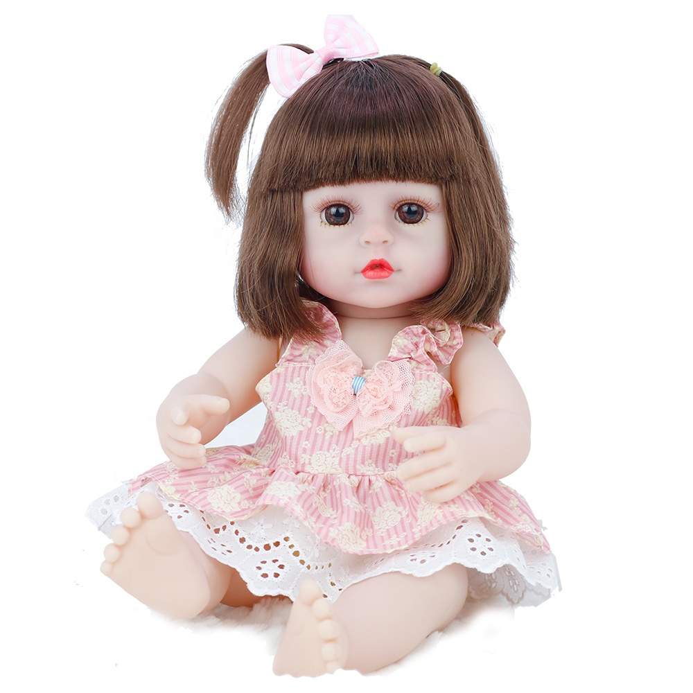 15 inch Reborn lifelike realistic vinyl baby <strong>doll</strong> Cute Training American Girl <strong>Doll</strong> Toy Reborn Baby <strong>Doll</strong> for Kids