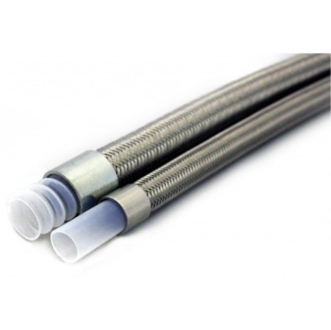 PTFE inner core stainless steel braided PU / PVC cover <strong>SAE</strong> <strong>J1401</strong> 1/8&quot; nylon Hydraulic <strong>brake</strong> <strong>hose</strong> PTFE <strong>brake</strong> line