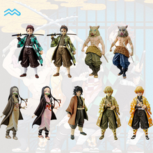 Eco-friendly Customized Life Size Japan Anime Demon Slayer PVC Mini Figurine Action Hand Doll Toy Figure