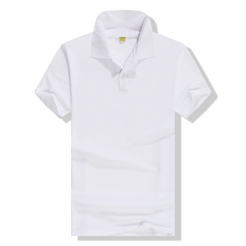 Hot selling custom logo plain 100%polyester dry fit short sleeve plain men polo tshirts