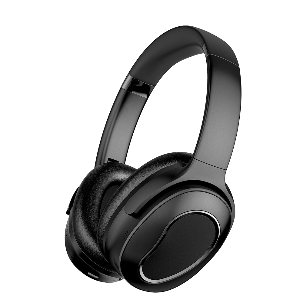 Robotcube Active Noise Cancelling <strong>H001</strong> Wireless Wired Bluetooth Headphones 2-in-1 Comfortable Foldable ANC Over Ear Headset
