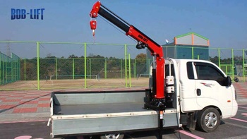 China Supplier 800kg Pickup Crane for Truck