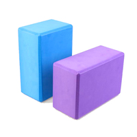factory direct supply hot sale Bamboo Eva Foam Yoga Block Set