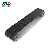 Manufacturers direct PVC black grass grain conveyor belt custom processing, suitable for material transportation
