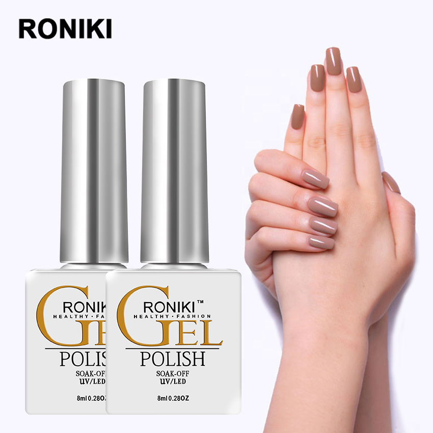 RONIKI Global Fashion Organic Free Samples Long Lasting Uv <strong>Gel</strong> Wholesale Soak Off Color Nail <strong>Gel</strong> Polish