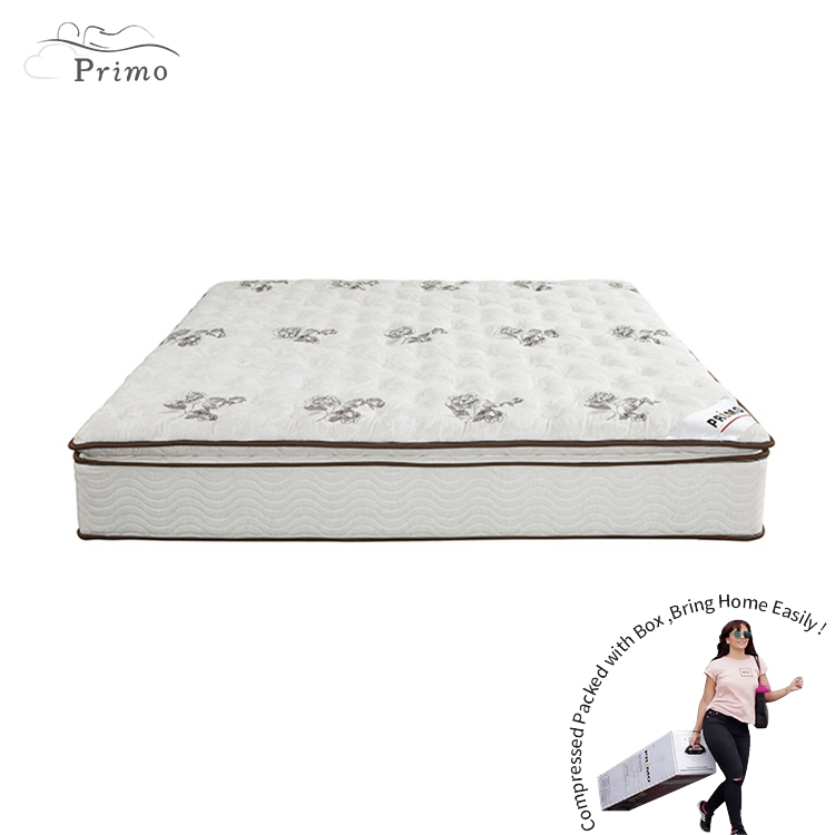 11 Inch Queen Natural Latex Pocket Spring Mattress China - Jozy Mattress | Jozy.net