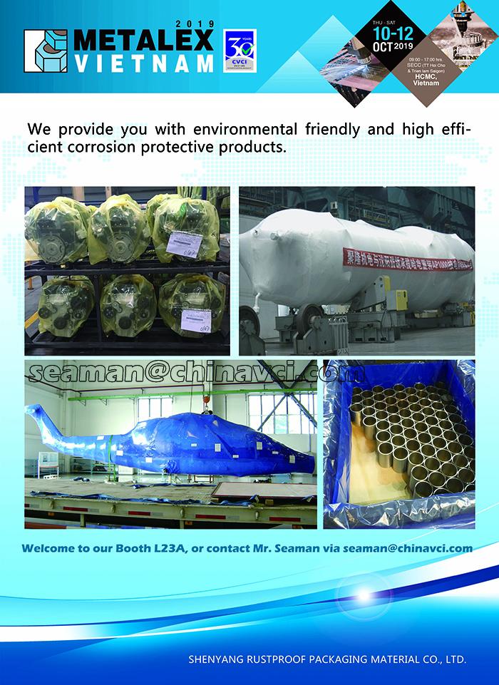anti corrosion VCI film bag, rust-preventive plastic film plastic, VCI Films Complies with SGS, RoHS, Reach, & Volkswagen