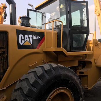 Second hand Machinery Equipment Loader CAT 966H front wheel loader Used Caterpillar 950 966 Wheel