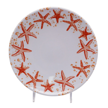 decorative hot pretty modern rectangular fancy plastic making melamine charger plates