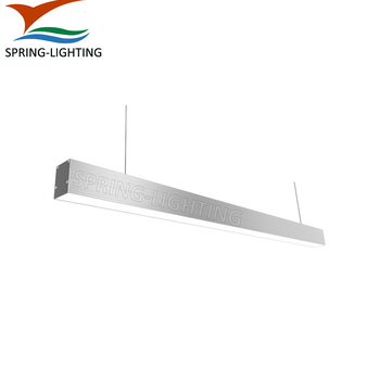 UL cUL High quality Aluminum 30W 40W 50W 80W 0-10V dimming led linear light for commercial lighting