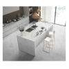Countertop Full Polished Porcelain White Tile Marble Carrara White Llook Ceramic Tile