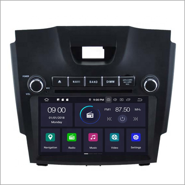 2 din car gps navigation android 9.0 car radio for CHEVROLET S10/Trailblazer LT/LTZ 2013/Colorado/ISUZU <strong>D</strong>-MAX