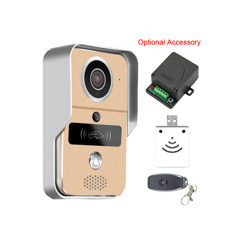 smart home waterproof security ring video phone ios Android camera Visual Intercom 720P TCP/IP WiFi Doorbell
