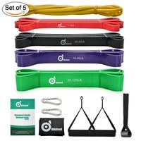 Elastic Yoga Pilates Rubber Stretch Exercise Band Arm Back Leg Fitness thickness 0.35mm resistance band Free Shipping