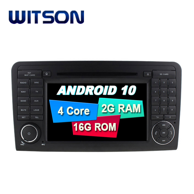 WITSON 7 inch Android 10.0 Car <strong>DVD</strong> GPS Navigation For Mercedes-Benz ML GL Car Audio Player