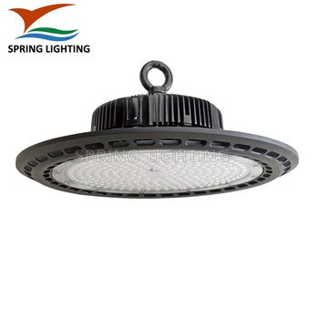 UL listed Aluminum materials 100w 150w 200w UFO LED high bay light for warehouse