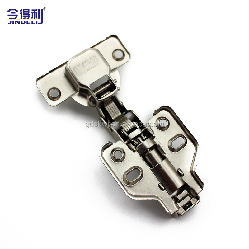100g Furniture Cabinet Hinge Cold Roll Steel Plate Clip On Hydraulic Hinge Soft Closing Slow Hinge