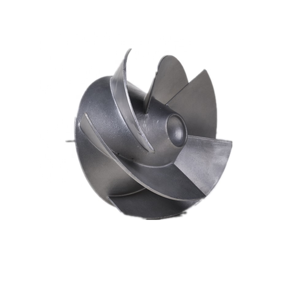custom precision investment casting stainless steel water pump impeller