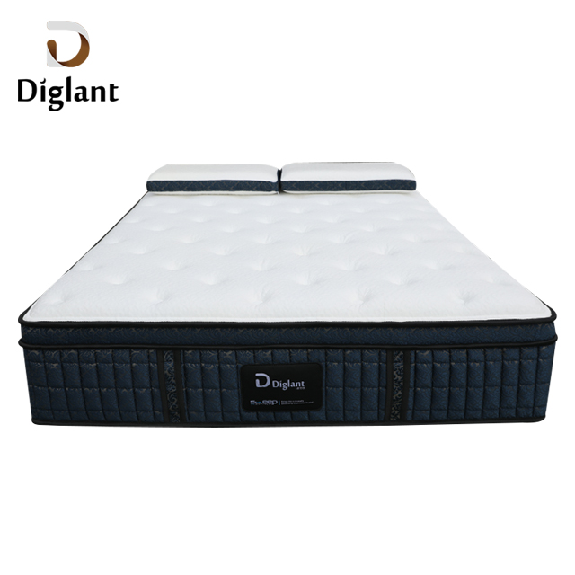 D41 Diglant high quality latex 5 star inflatable 12 inch queen king xxxn pocket spring bedroom foam memory hotel mattress - Jozy Mattress | Jozy.net