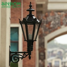 European style antique street wall lamp outside E27 wall mounted lantern light