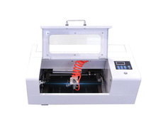 25W co2 glass tube laser cutting engraving machine for small business