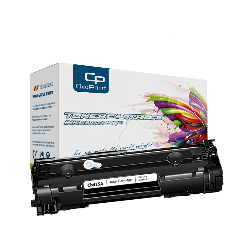 Hot sale New Compatible Black Toner Cartridge 35A Cb435A For P1006 P1009 P1002 P1003 P1004 <strong>P1005</strong> Laser <strong>Printer</strong>