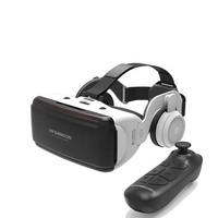 3D VR glasses with game controller virtual reality game movie 3D video glasses with gamepad