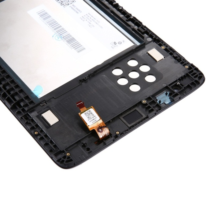 Tab LCD Screen Digitizer Full Assembly with Frame for Lenovo A8-50 Tablet / A5500