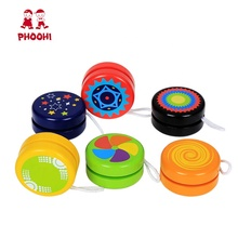 Wholesale Hot Children Outdoor Play Game Classic Kids Wooden <strong>Yoyo</strong> Toy For 3+