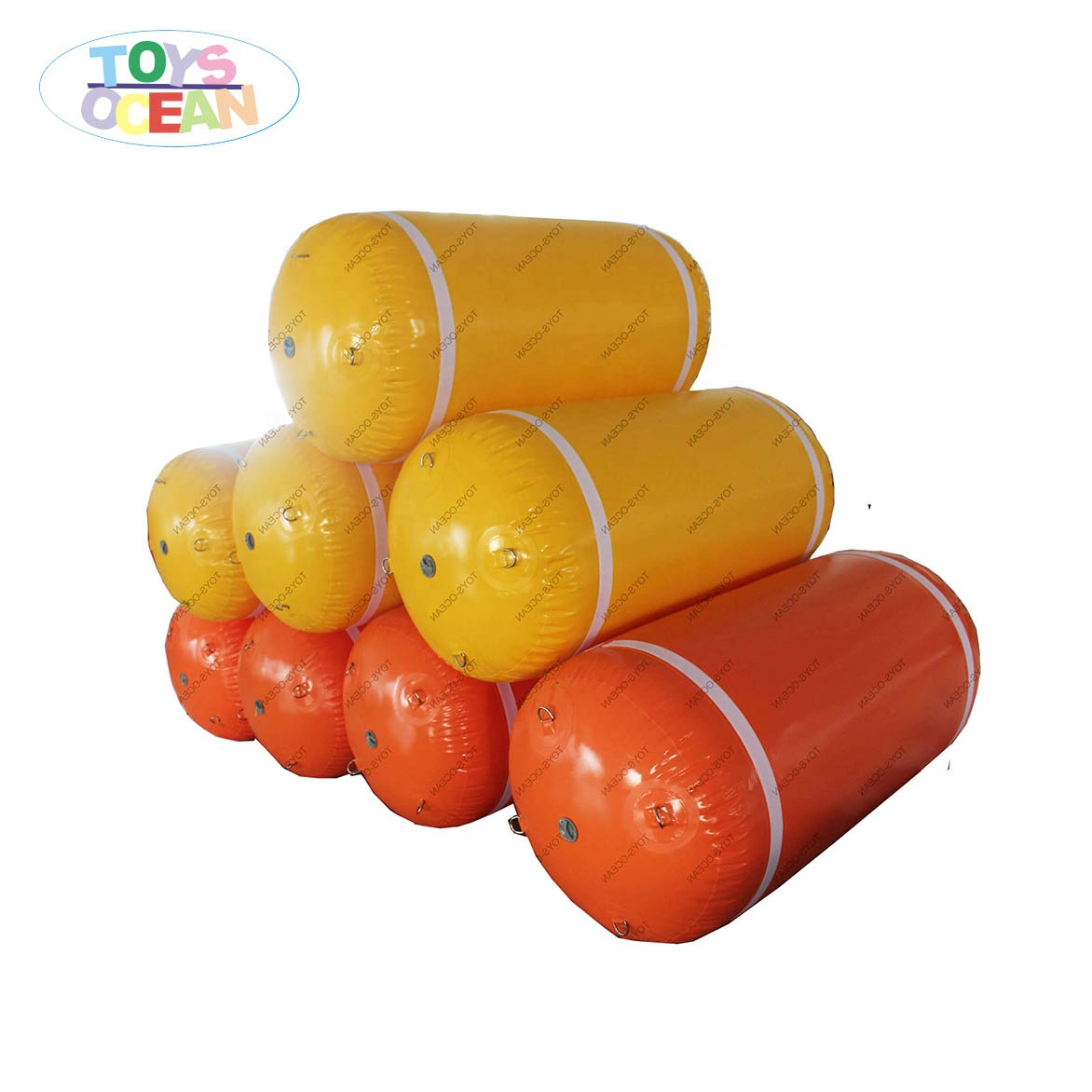Factory Price Floating Marker Buoy Inflatable Pipe For <strong>Water</strong> Aqua Park Custom Color