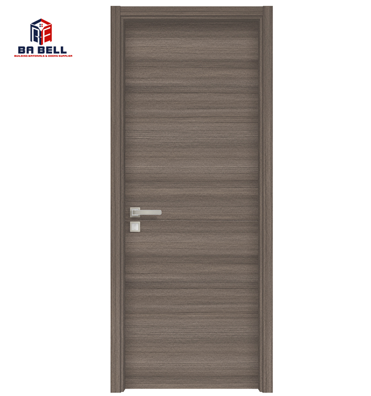 Light Walnut Italy Style Inside porte Simple Wood <strong>Door</strong> Custom Made Good Quality Cheap bedroom Swing MDF Interior Room <strong>Doors</strong>