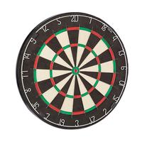 Factory direct selling custom logo sisal blade wire bristle dartboard.