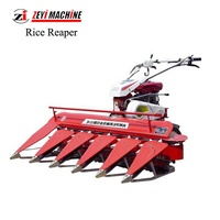 Multifunction Automatic Walking Tractor Reaper Mini Rice Wheat Harvester New Small Combine Harvester Price