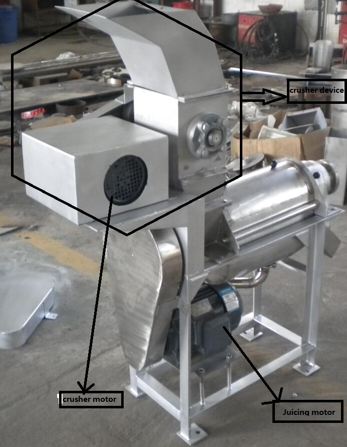 fruit juicer with crusher2