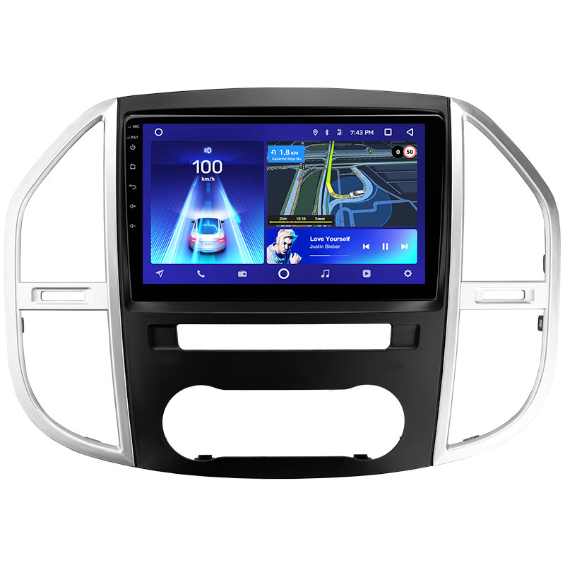 TEYES CC2 For Mercedes Benz Vito 3 W447 2014 - 2020 Car Radio Multimedia Video Player Navigation GPS Android 8.1 No 2din 2 din <strong>d</strong>