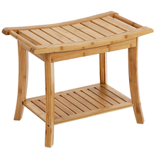 Bathroom Toilet Stool Bamboo Wood Stool Folding Stool