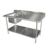 Hotel Kitchen Equipment Heavy Duty Stainless Steel Commercial Work Table