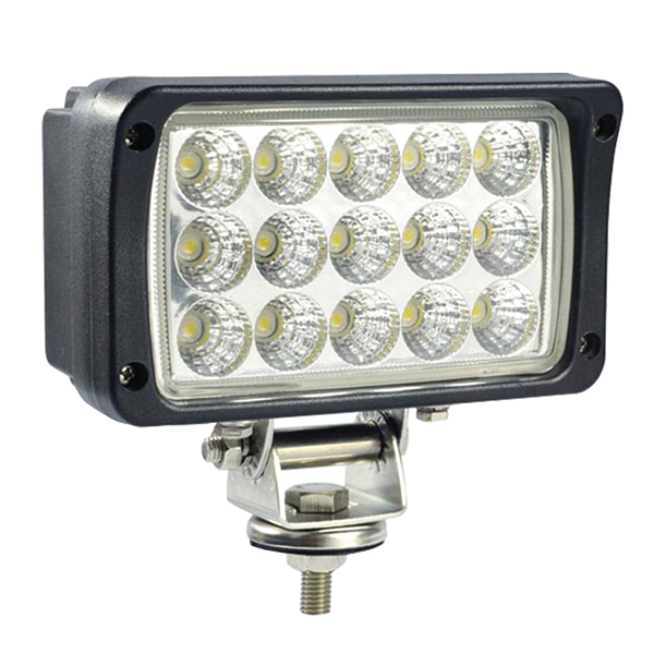 5 inch <strong>Auto</strong> rectangular led driving lights for Tractors Forklifts 45W 4 <strong>x</strong> 4 off road taillight for long range LED working light