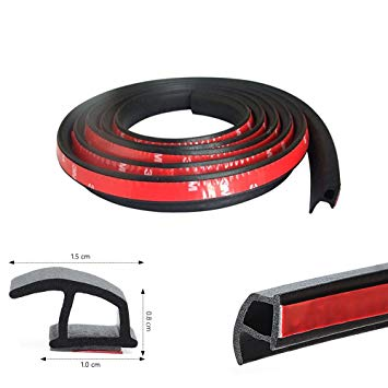 <strong>D</strong> Shape <strong>B</strong> Shape P Shape Sound Insulation Car Door Seal strip