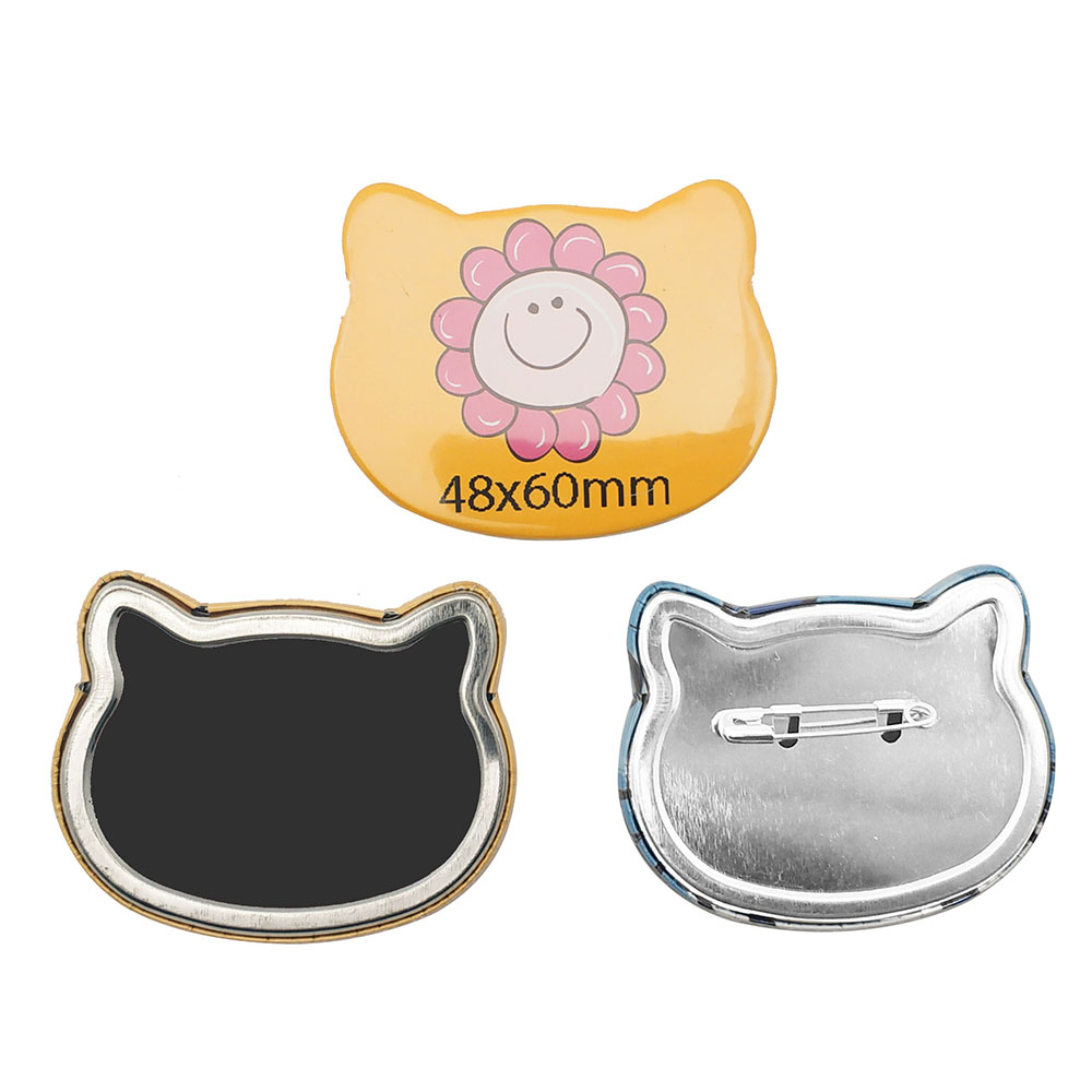 Hot Sale High Quality Cat Shape Interchangeable Button Badge Making Machine Mould