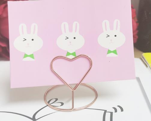 wholesale hot selling mix designs photo card lip metal clip clip