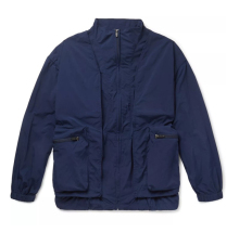 <strong>Men's</strong> New Design Navy Layered Shell and Mesh <strong>Jacket</strong>