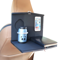 Vehicle Travel Tray Desk Computer Laptop interior accessories car seat table