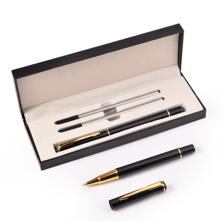 New Arrival Unique Design Pen Set in Gift Box High Quality Promotional Business Gift Set Luxury Pen Set with <strong>Logo</strong>