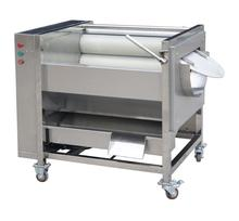 Capacity 800-1200Kg/H <strong>date</strong>/potato /carrot Fruit Roller Washer Cleaner /Brush washing Peeling machine